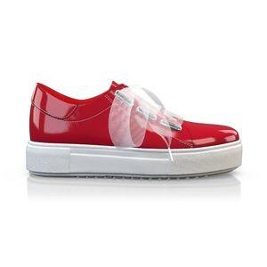 BREN MAROE Designer Women Sport Tec red Sneaker